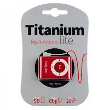 MP3 <b>плеер Perfeo Titanium Lite</b>, красный — купить в интернет ...