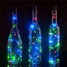 Wholesale <b>1M 10 LED Wine</b> Bottle Cork LED Lights Copper Wire ...