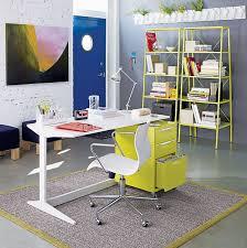 metal desks cb2 office