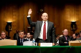 clinton and goldman why it matters by simon head nyr daily goldman sachs ceo lloyd blankfein being sworn in at a senate hearing on the financial