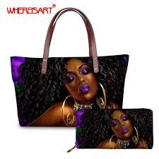 <b>WHEREISART</b> African wallet for women monedero grande <b>black</b> ...
