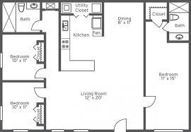 bedroom bath ranch floor plans   Bedroom Design Ideas     bedroom bath homes for rent bedroom bath floor plans