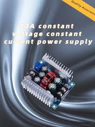 <b>DC</b>-<b>DC 20A 300W</b> Step Down Buck <b>Converter</b> Constant Current ...