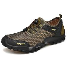 <b>IZZUMI</b> Men <b>Summer</b> Casual Shoes Breathable <b>Mesh</b> Outdoor ...