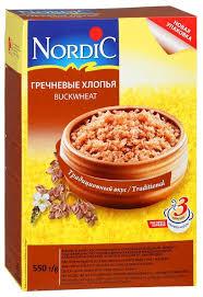 <b>Nordic Хлопья</b> гречневые, 550 г — купить по выгодной цене на ...
