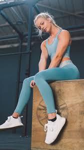 Gymshark Fit Leggings - Dusky Teal/Light Grey in 2019 | Workout ...