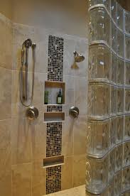 white dual shower tile wall walk  images about master bathroom ideas on pinterest polished chrome vanit