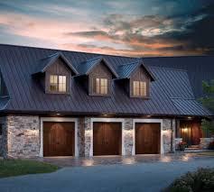 Artistic Garage Doors Exterior Contemporary With One Story House - Exterior garage door