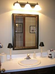 bathroom mirrors and lights pcd homes above mirror lighting bathrooms
