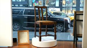 jk rowling s harry potter writing chair goes up for auction