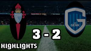 Image result for Celta vigo vs Genk Result