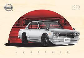 NISSAN Skyline <b>GT</b>-<b>R HAKOSUKA</b> (1970's) | High Detailed ...