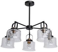 """<b>Люстра</b> потолочная <b>De Markt</b> """"Вальтер"""" 5x10W LED E27 ..."""