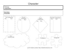 images about world lit   homeschool high school course on  printable character review diagram for use with any book for literary analysis or review of