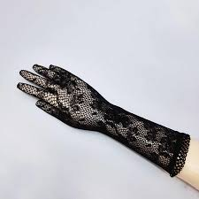 1 pair Sale <b>2016 New Arrival</b> Party <b>Sexy</b> Lady Lace Gloves Mittens ...