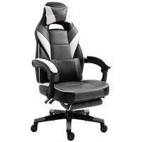 Homcom <b>Office Chair</b> home <b>desk chair</b> cheap computer <b>gaming</b> ...
