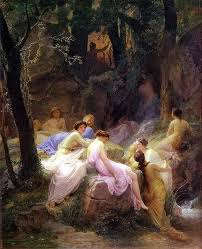 good manners  j c hill  essay  reintroduced  p s remesh chandran    listeners to orpheus  nymphs by the stream