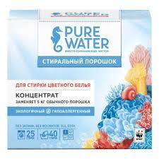 <b>Стиральный порошок PURE WATER</b> для цветного белья 800 г ...