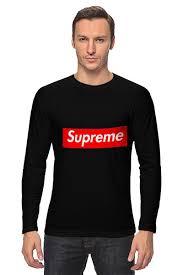 <b>Лонгслив</b> Supreme #665805 от pwp930 по цене 1 452 руб. в ...