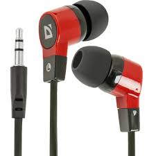In-ear headphones <b>Defender Basic 619</b> black + red