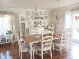 white cottage dining room table rustic coastal home design with beachy living room with vintage furnit
