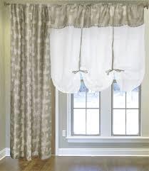 <b>Комплект штор</b> для окна с балконом Арина бежевый, белый, арт ...