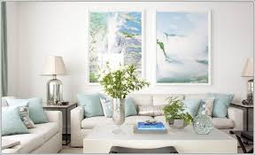 how about chalky pastels in your living room blue white living room