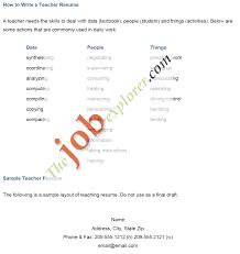doc cv examples teaching jobs com now