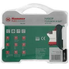 Купить <b>Набор бит Hammer</b> Flex DR No20 202-920 по супер ...