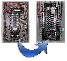 upgrading from a fuse panel to breaker panel Cost To Replace Fuse Box With Breaker Panel Cost To Replace Fuse Box With Breaker Panel #2 cost to change fuse box to breaker panel