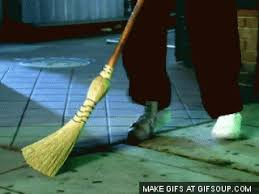 Image result for sweeping gif