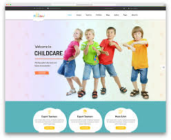 daycare website templates template daycare website templates