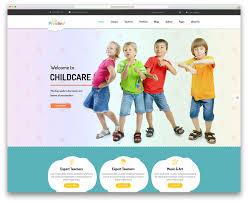 daycare website templates template daycare website templates