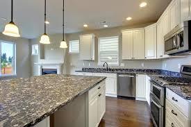 interior white wooden kitchen cabinet bathroom pendant lighting ideas beige granite