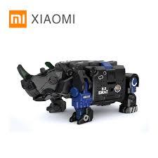 XIAOMI MIJIA 52TOYS <b>Beast Series</b> Plan Blue armor special police ...