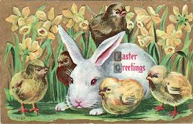 Image result for vintage happy easter