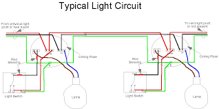 home light wiring diagram   wiring diagrams for household light    home electrics light circuit