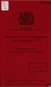 Domestic Food Consumption and Expenditure 1974