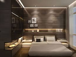 trendy bedroom decorating ideas home design: un dormitor in care s a optat pentru un decor modern in care culorile inchise primeaza