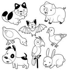 <b>Animal</b> Farm <b>Cartoon Black</b> and <b>White</b> Vector Images (over 5,800)