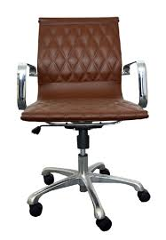 office chairs brown leather brown leather office chairs