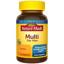 Nature <b>Made</b>® <b>Men's</b> Multi Tablets | Nature <b>Made</b>®
