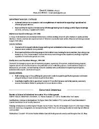 logistics resume example military resume example