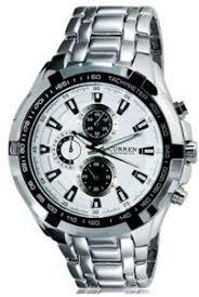 <b>CURREN 8023 Men's</b> Stainless Steel Analog Quartz Watch-white ...