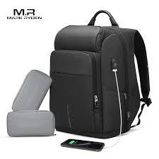 Mark Ryden Men Backpack <b>Multifunction USB Charging</b> 17 Inch ...