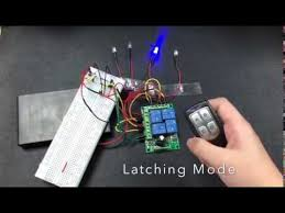 How to use <b>DC12V</b> 4 Channel Remote Control Switch Relay ...