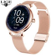 2020 New <b>IP68 Waterproof</b> Smart Watch <b>Women Lovely Bracelet</b> ...