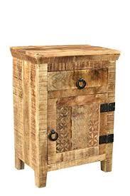 vidaXL Nightstand <b>Bedside Table</b> Side Cabinet Home Decor <b>Solid</b> ...