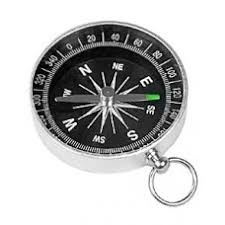 <b>Компас Kromatech</b> 43 мм, с кольцом (металл, черный) купить в ...