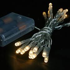 <b>Battery</b> Operated <b>LED String Lights</b> | PartyLights